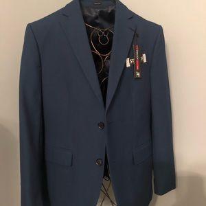 NWT Men's Navy 38s J. Ferrar stretch blazer